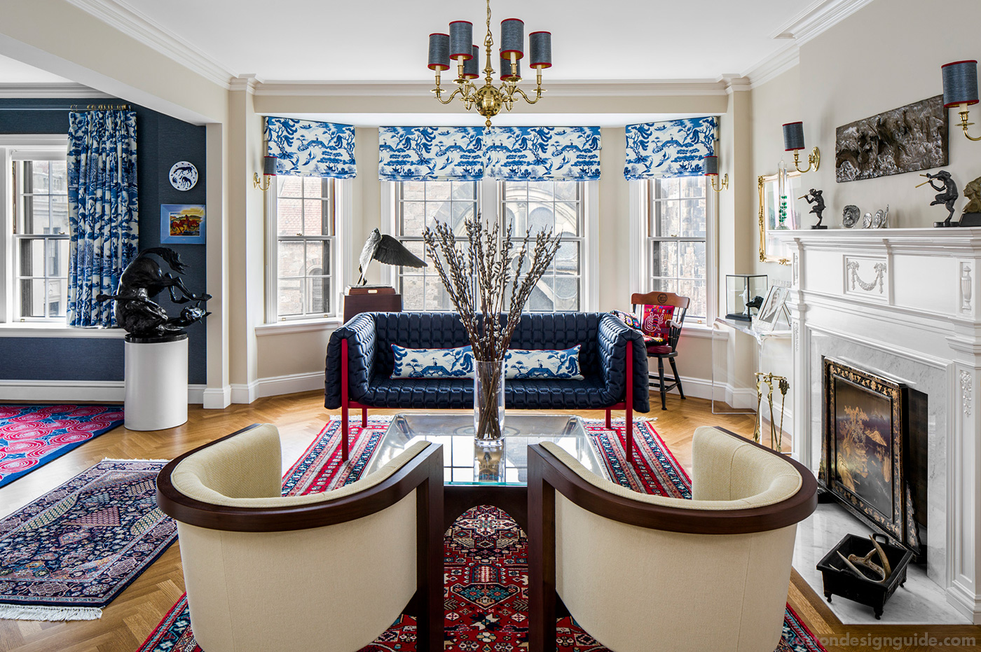 High-end homes on the Boston Marathon route