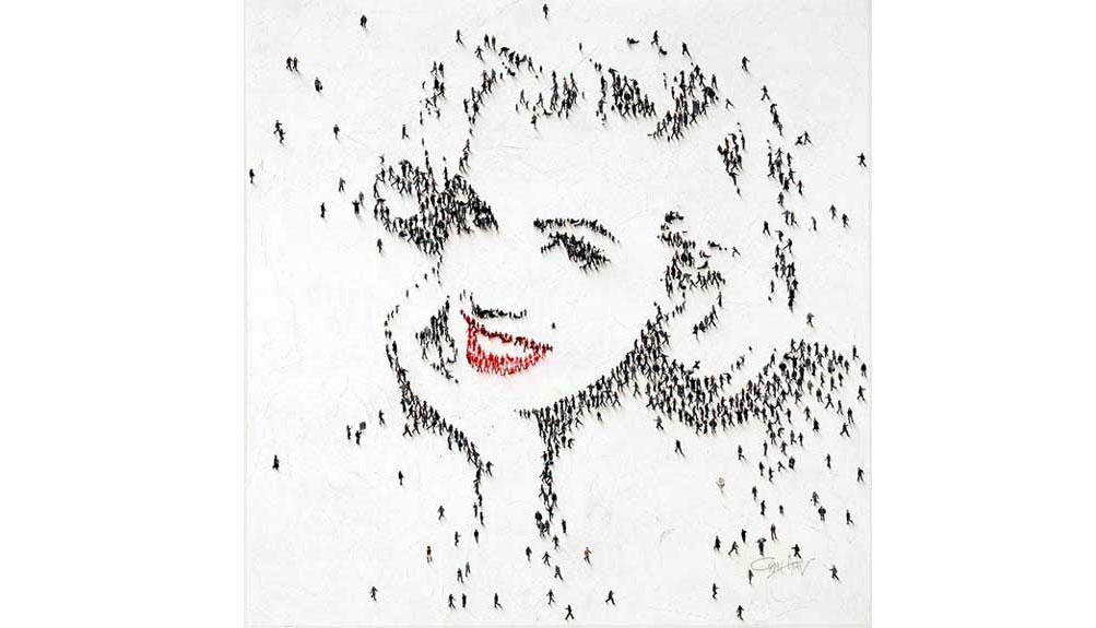 Craig Alan Populus Figurative Series Marilyn Monroe