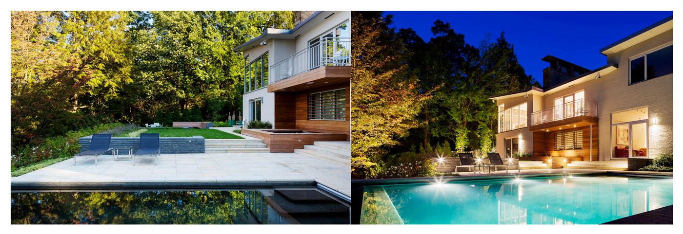 High-end lighting and landscape designs