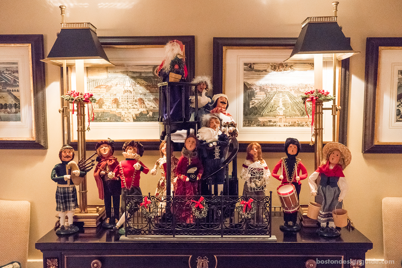 Byers' Choice Twelve Days of Christmas Carolers