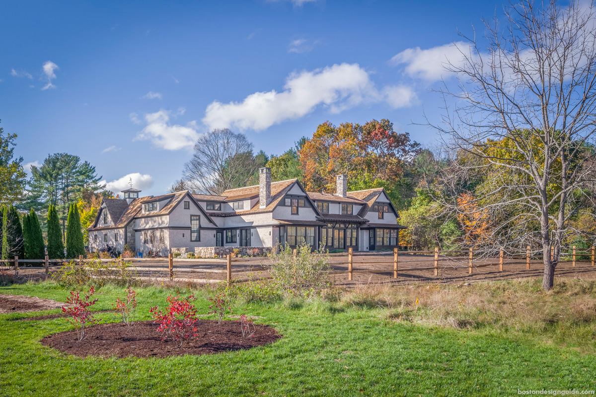 Classic New England Construction Architecture and design