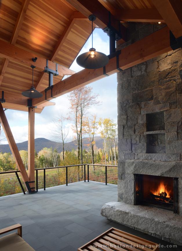 mga architects Vermont Mountain House