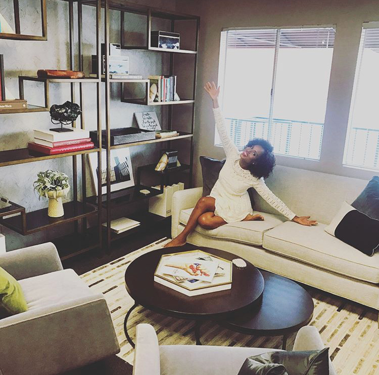 high-end office furniture, Kerry Washington