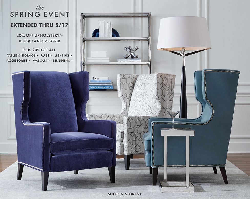 Join Mitchell Gold + Bob Williams for their Spring Event! | Boston ...