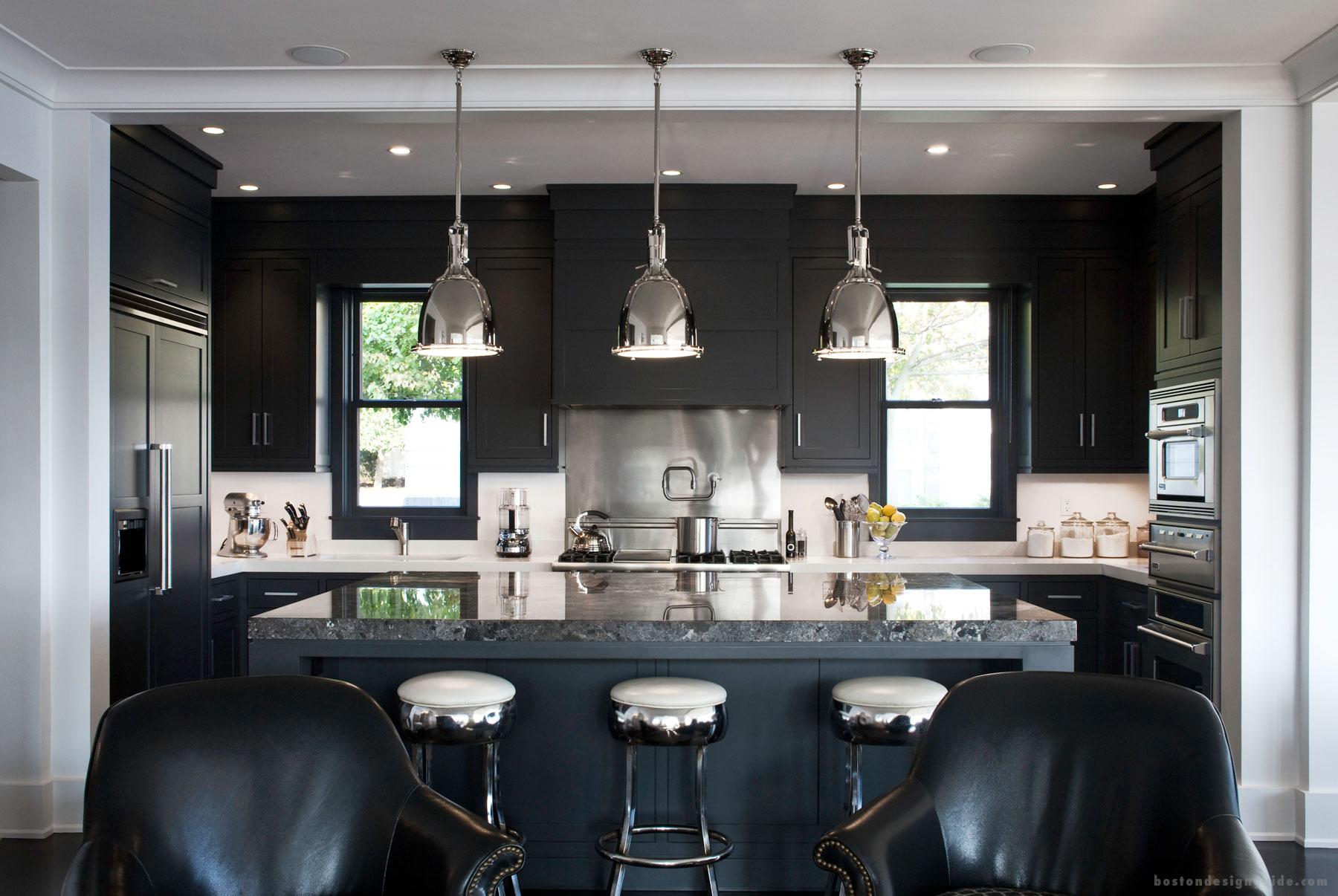 Kitchen mirror interior deisgn