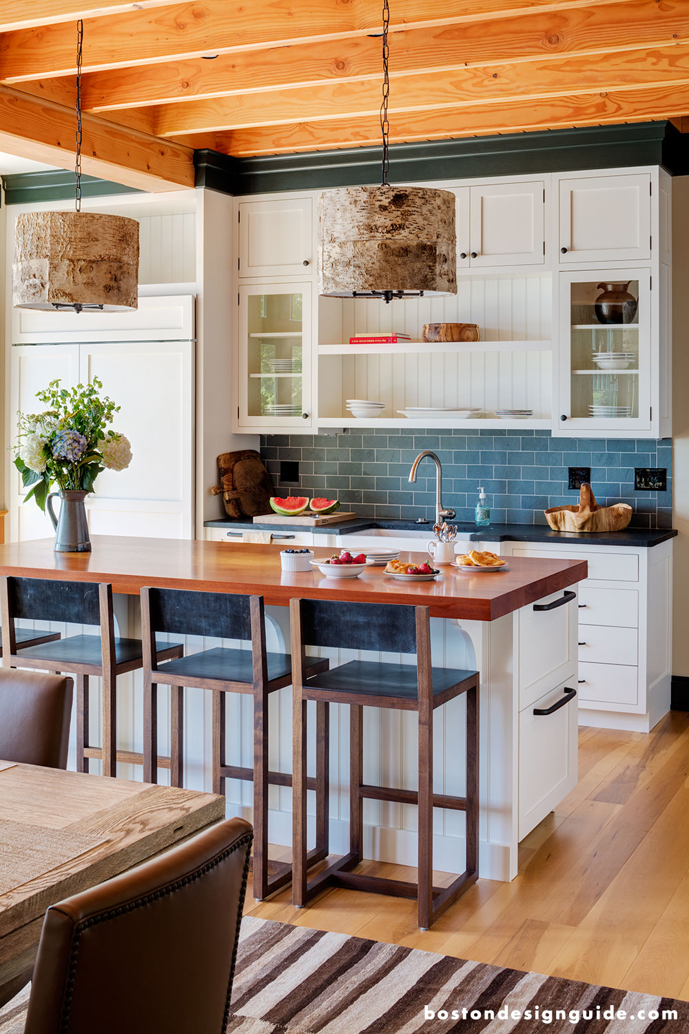 Residential Interior Project Has Modern Yet Vintage Take: Mollie Johnson Interiors