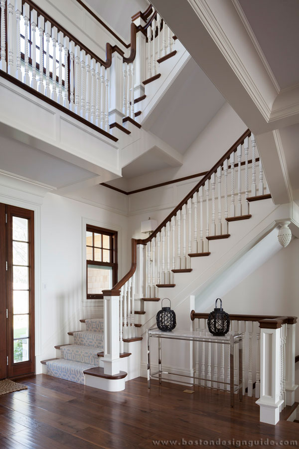 Architecture designer home in New England Staircase design