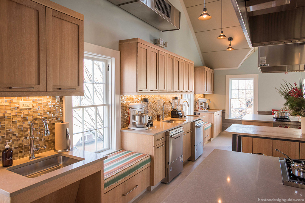 Luxury kitchen design in New England