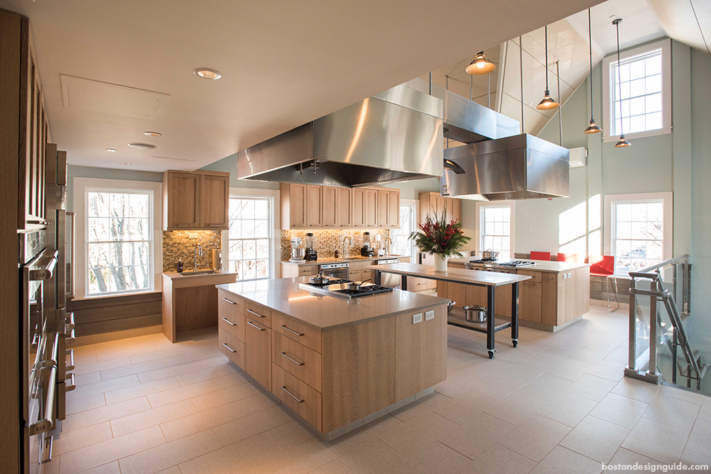 High end home kitchen design and construction