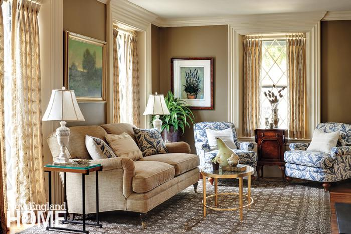 """Janice Battle Designs """"Storybook Ending"""" Home in Concord, MA ..."""