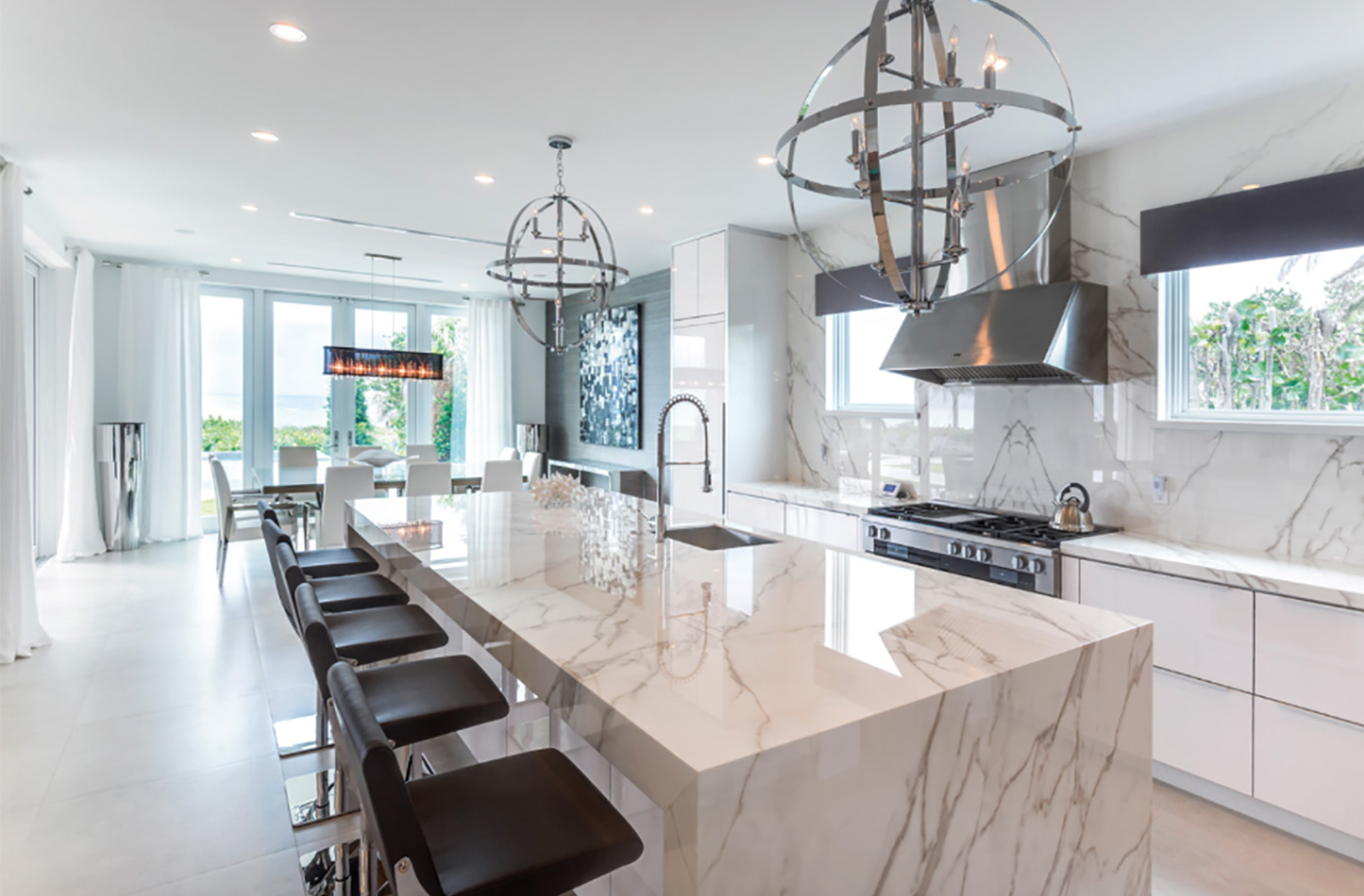Contemporary design with Neolith