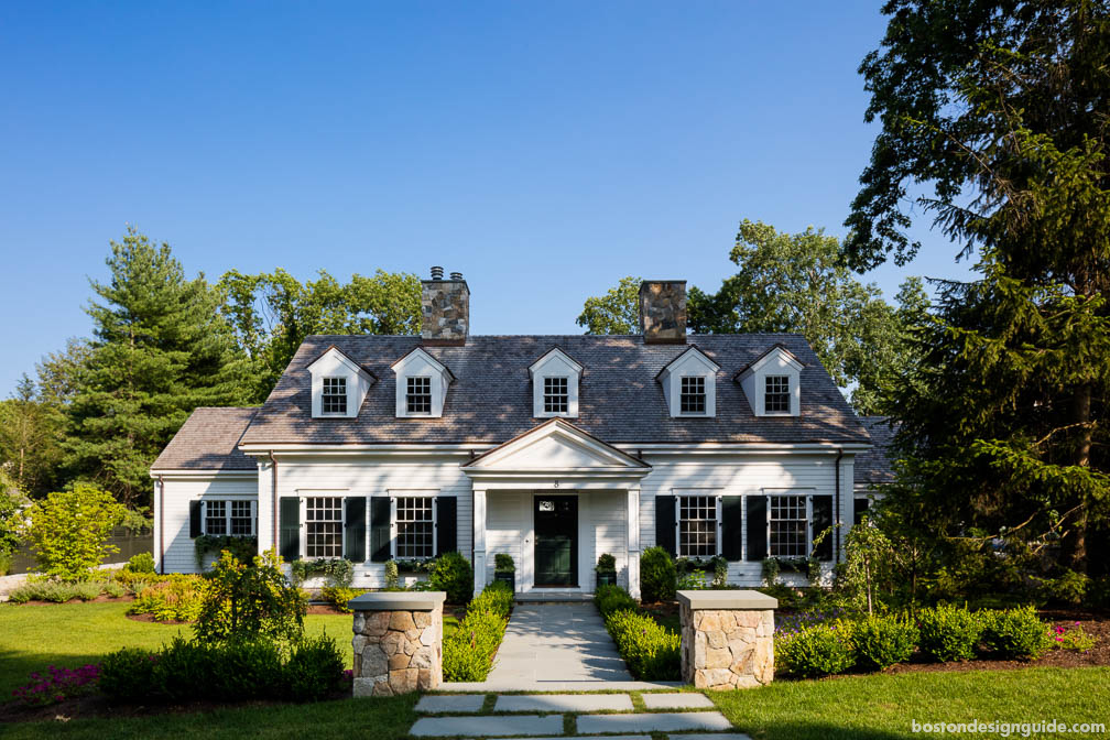 classic home architecture in New England