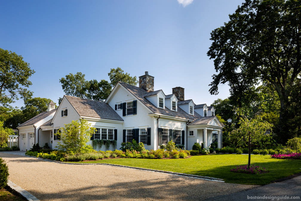 high-end home architecture in New England