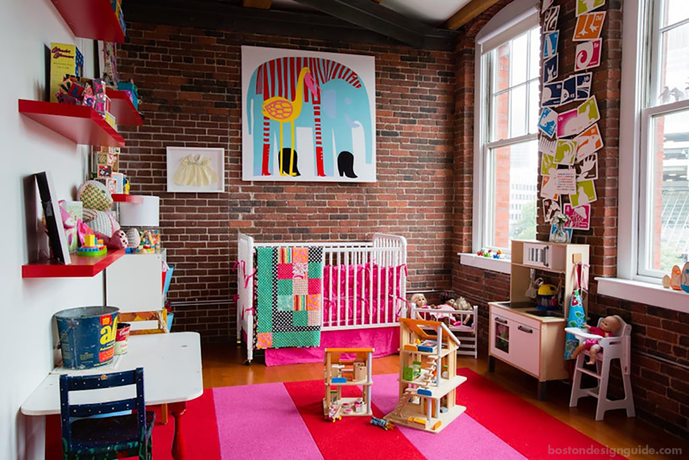 High-end nursery in Boston