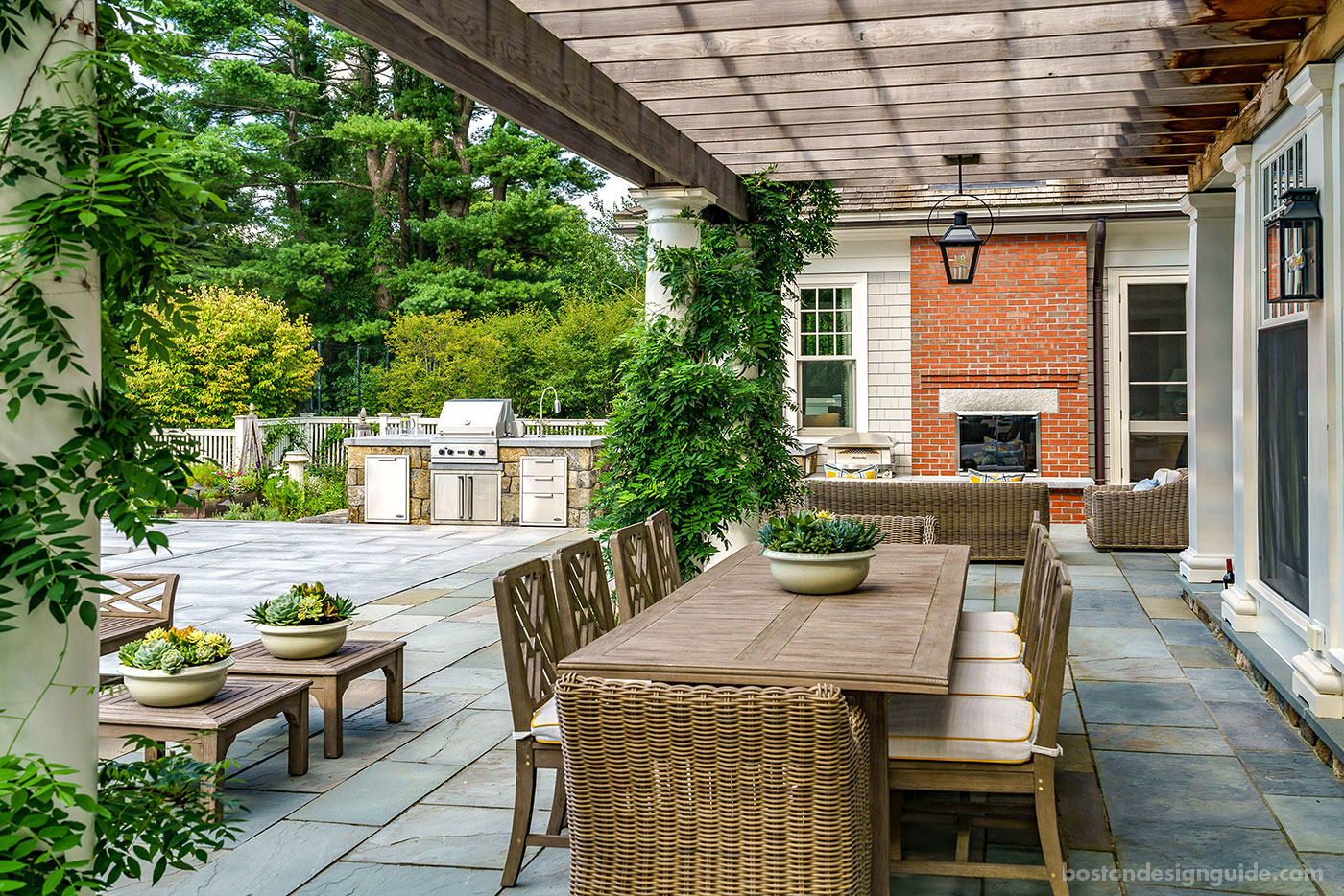 Outdoor Dining Terrace by Onyx Corporation