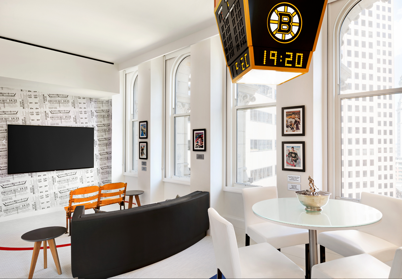 Bobby Orr Suite at The Ames Hotel Boston