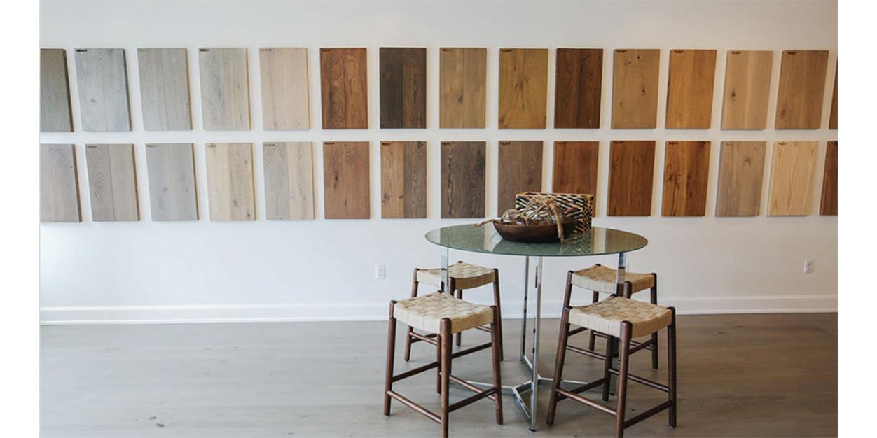 Mac Davis Flooring's new Osterville showroom on Cape Cod