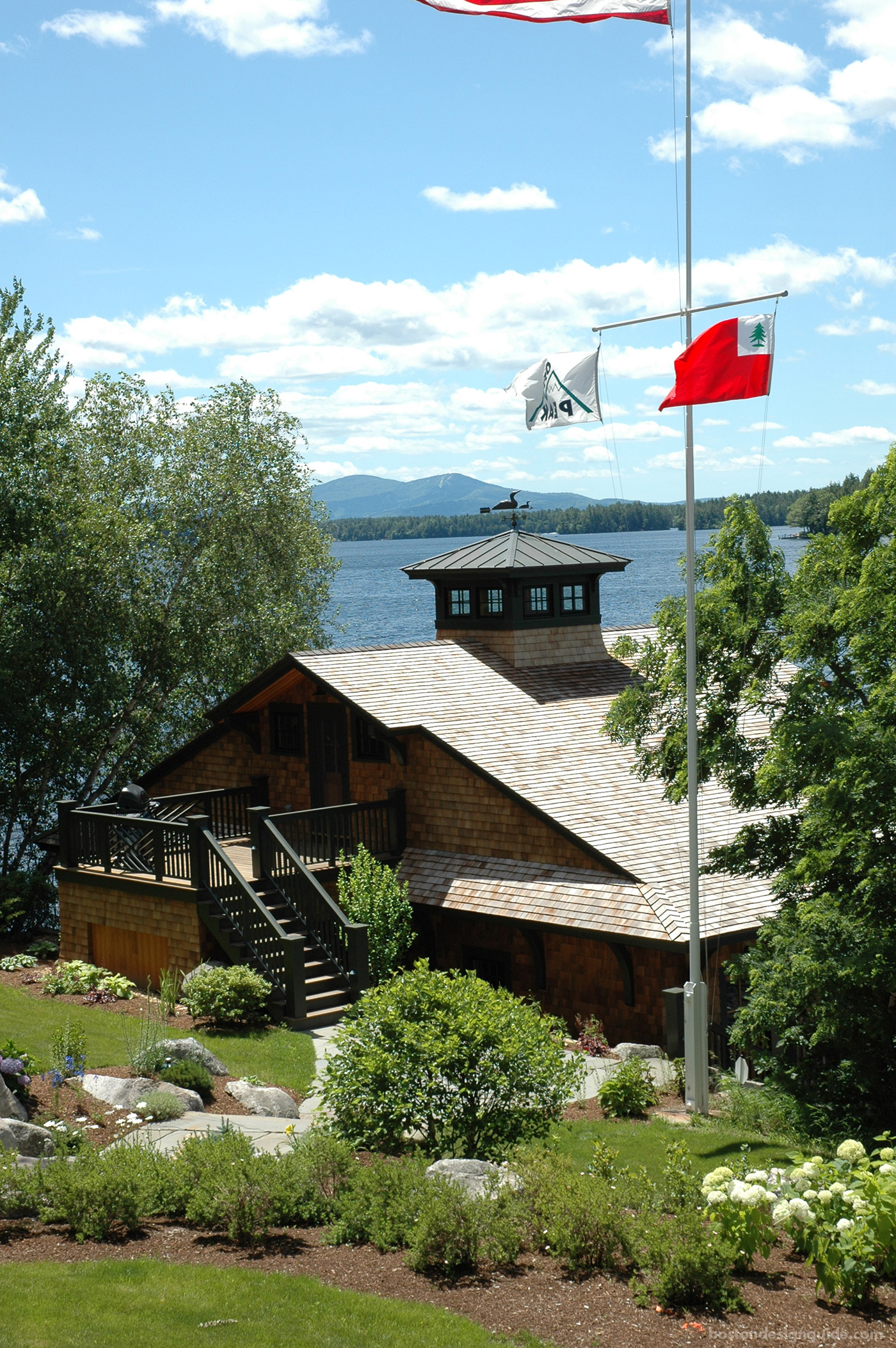 high-end New England architects, boathouse