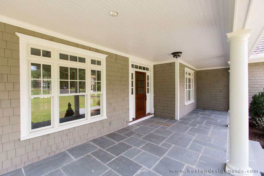 Oxbow development group for Bluestone front porch