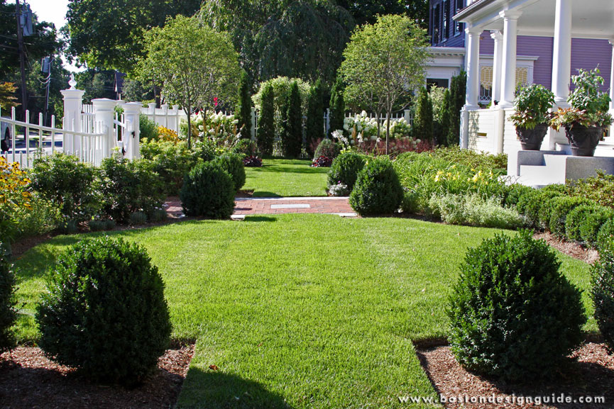 What are the best plants for perennial formal and for Formal landscape design