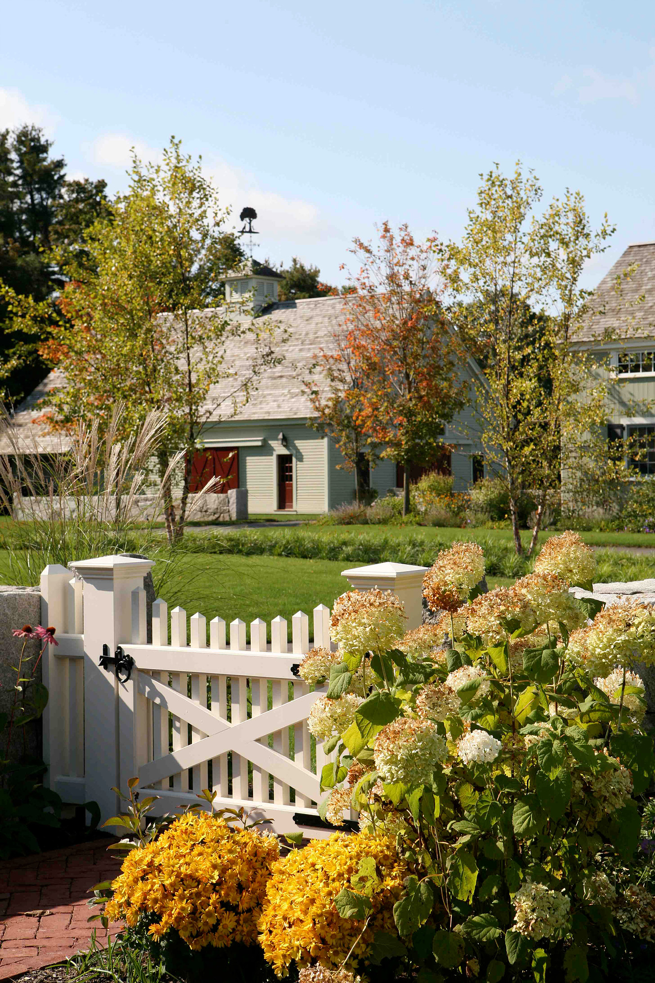 New England landscaping professionals