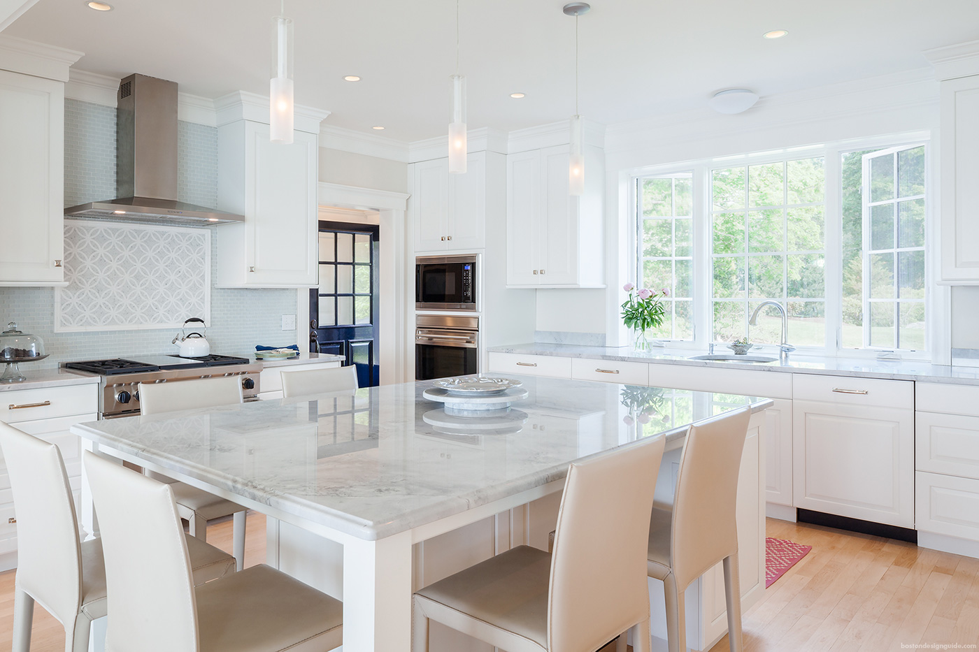 What white paint to use in high-end kitchen