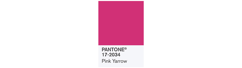 PANTONE Spring 2017 Fashion Color Report, Pink Yarrow