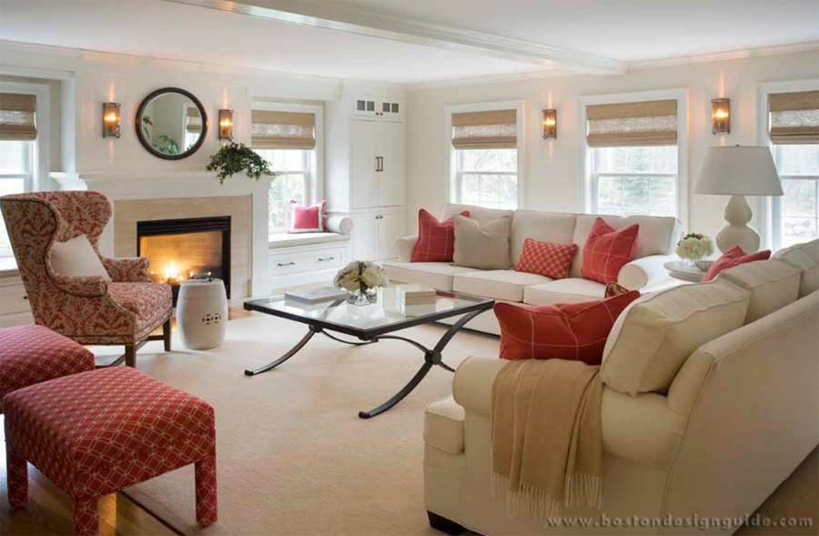 How To Use Red As An Accent Color Boston Design Guide