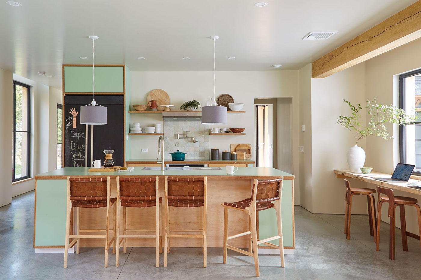 Sustainable kitchen design by Paul Weber Architecture