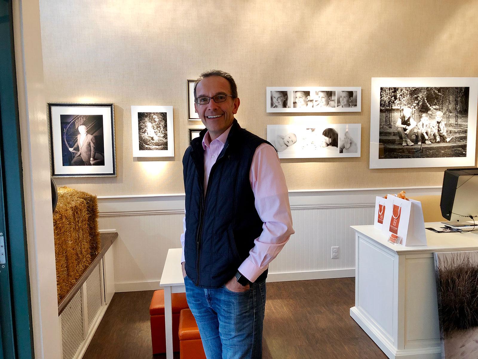 Roger Pelissier, portrait photographer in Wellesley