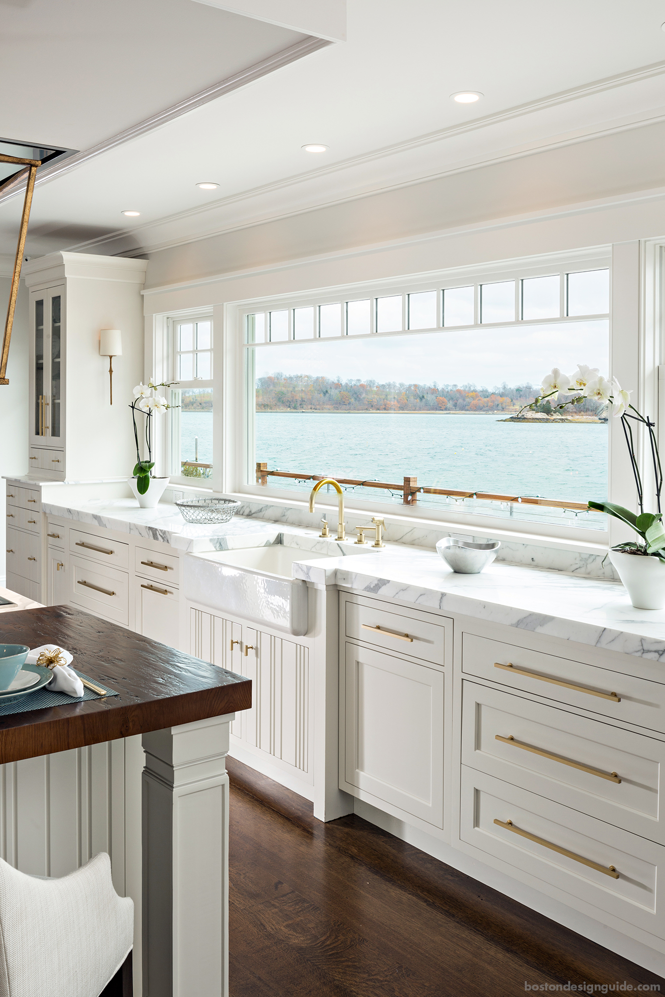 residential home cabinetry and design center in New England