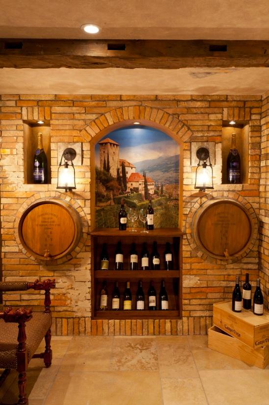 Amazing Wine Cellar Paint Colors 9 Houzz