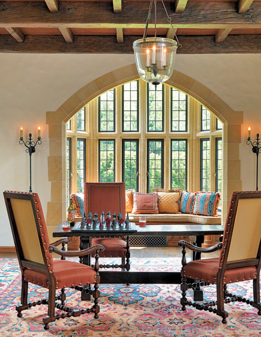 Great Hall with Oriental Rug