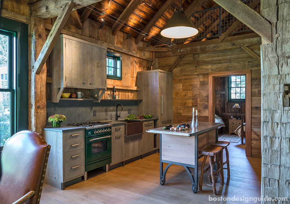 rustic barn kitchens