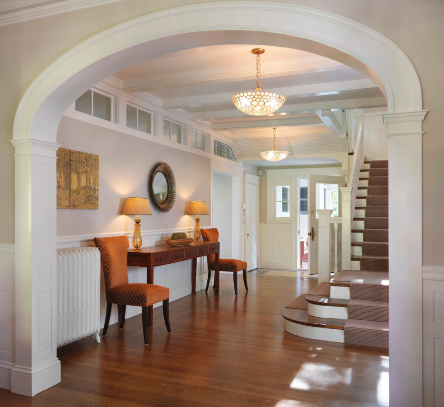 Arched Foyer Window : En plein air pantone spring color report boston design