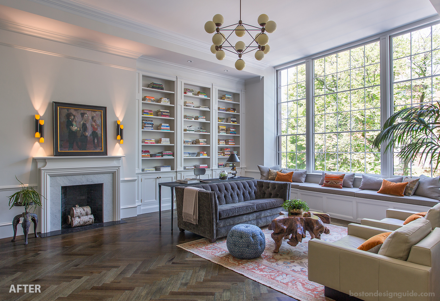 """""""After"""" high-end townhouse renovation"""