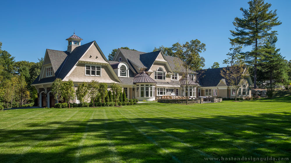New england classics a weston home with natural beauty for Classic new england home designs