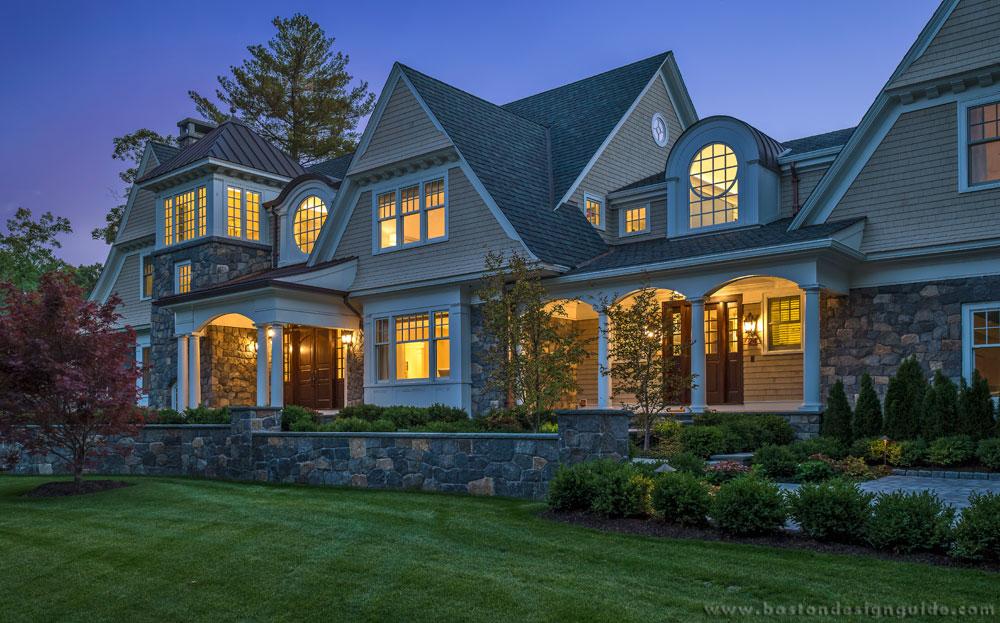 Construction Architect Building High End Home Design