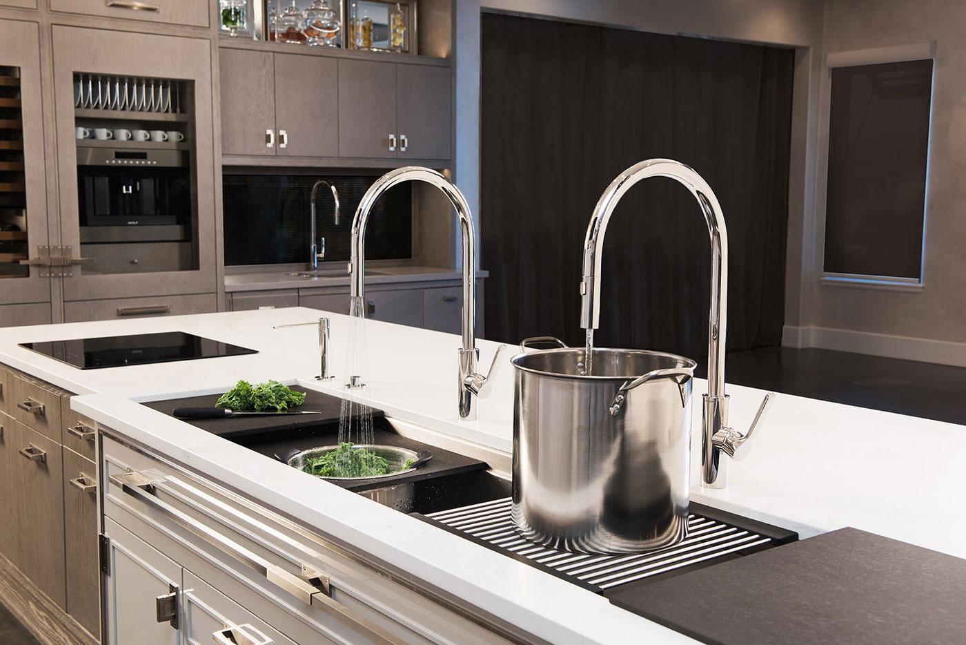 Efficient Kitchen Workspace