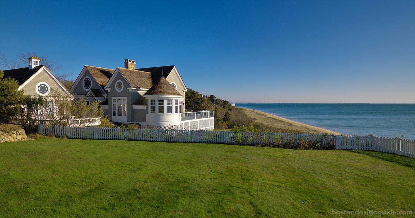 Custom oceanfront home
