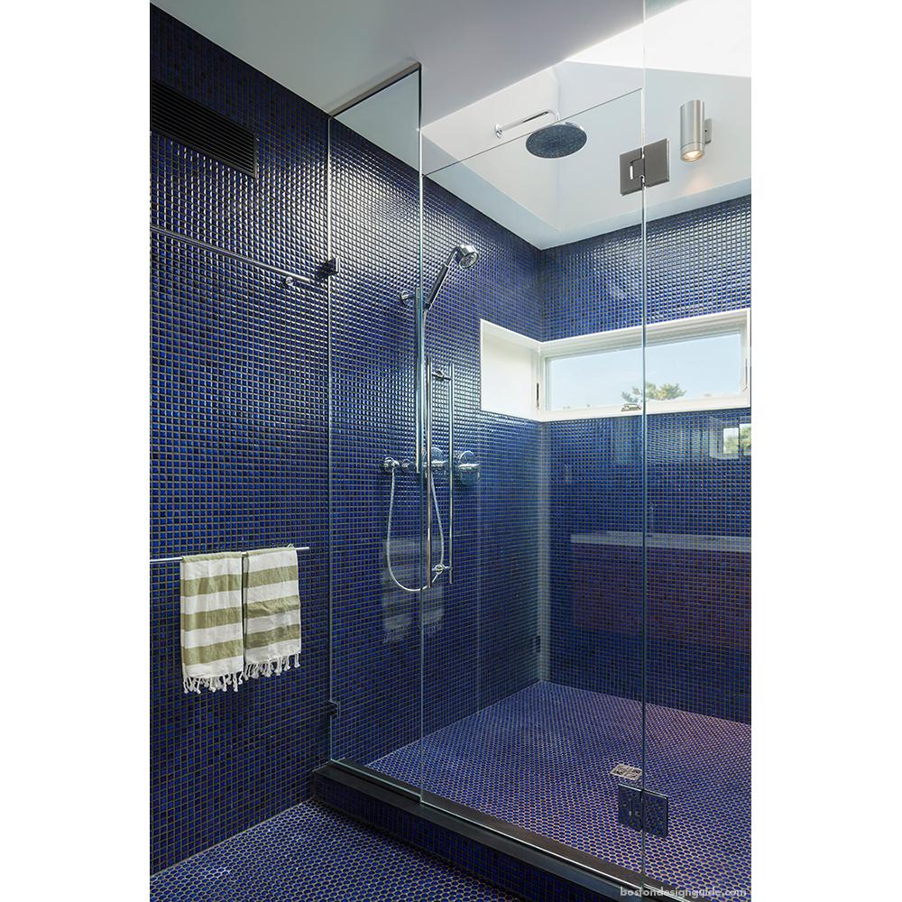 Modern Cape Cod Beach Home Bathrooms