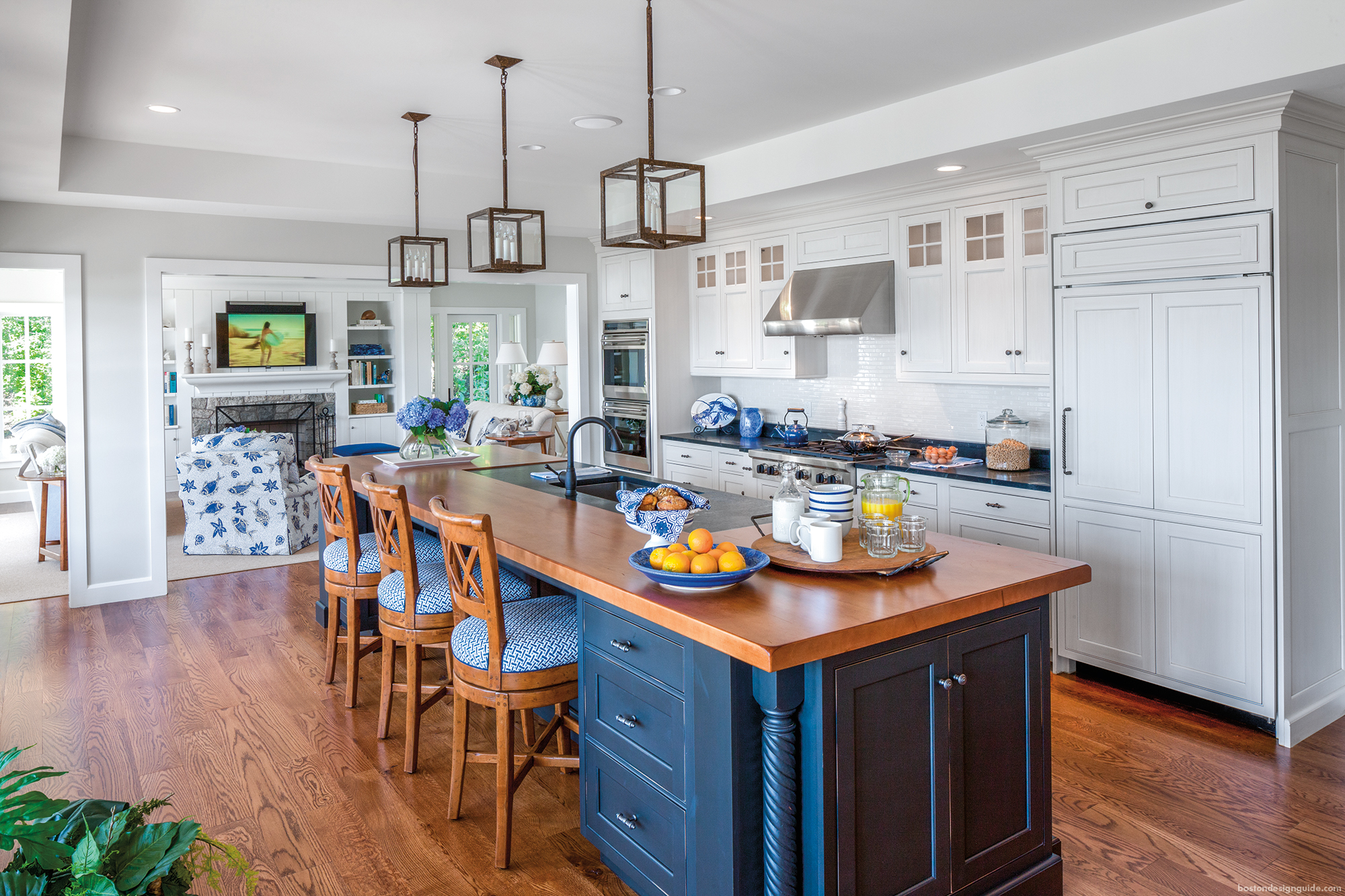 Gorgeous Kitchen Interiors in New England