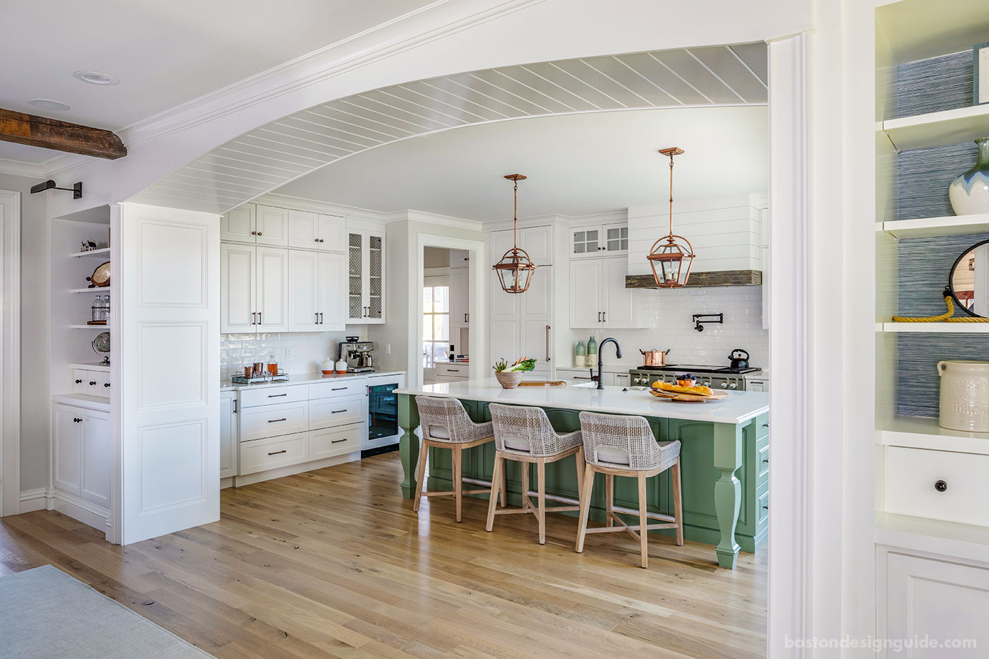 Creative applications for shiplap by Hawthorn Builders