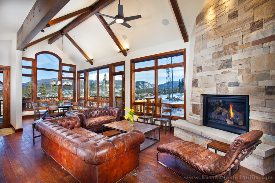 SkiChic Mountain Retreats Boston Design Guide Best Colorado Home Design