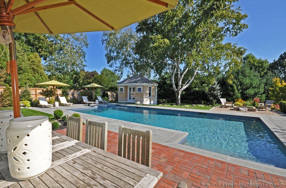 High-end pool designs