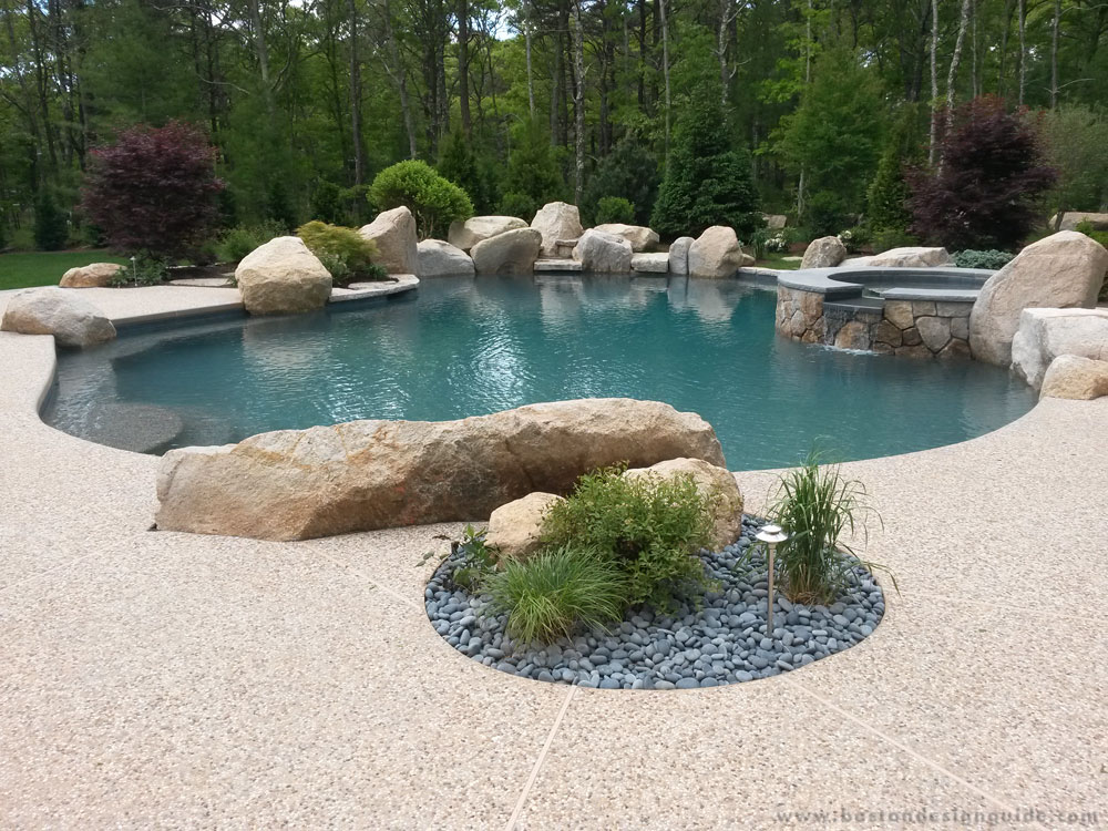 South Shore Gunite Pools Spas