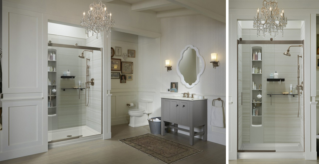splash left choreograph shower wall levity shower door