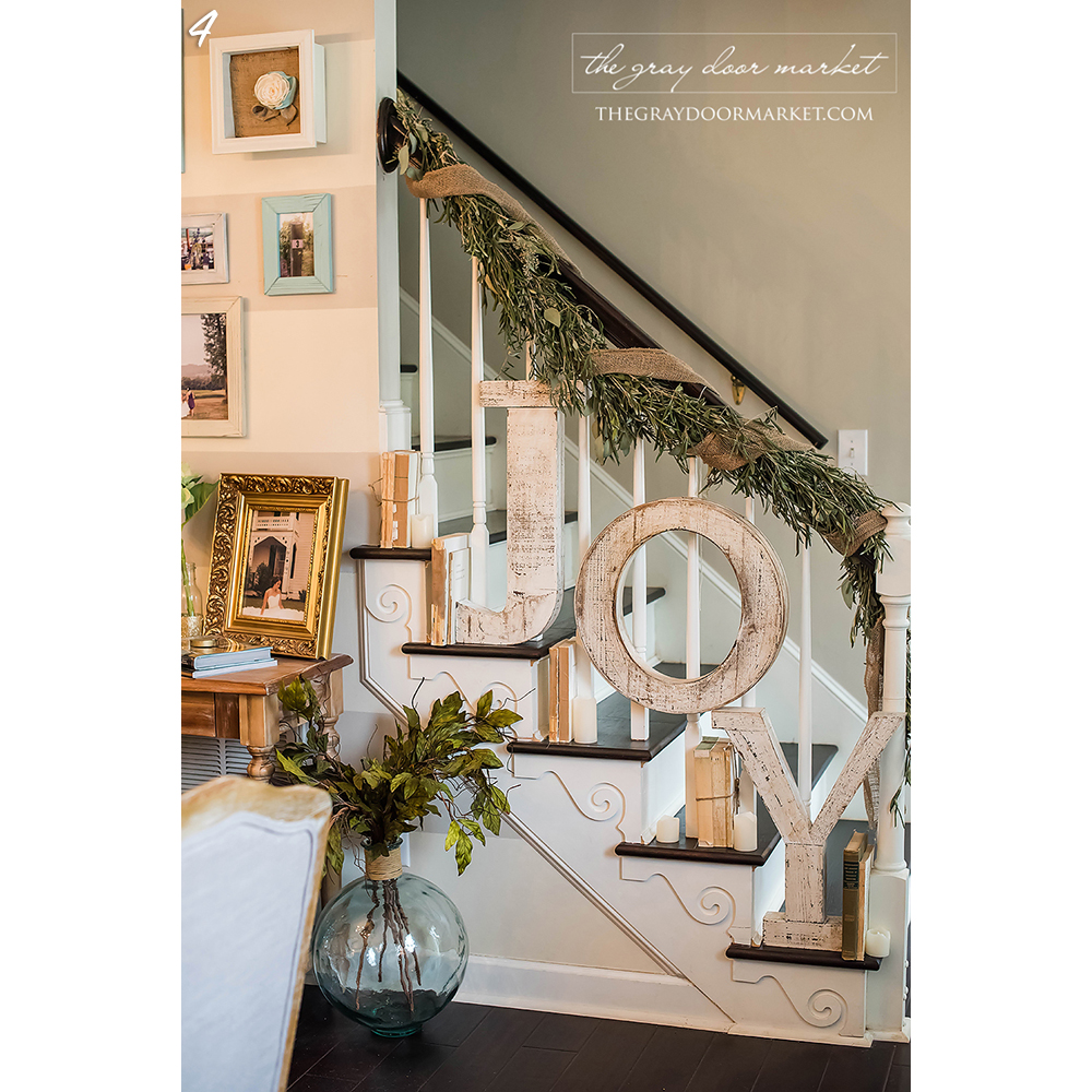 Stairway Holiday Decor