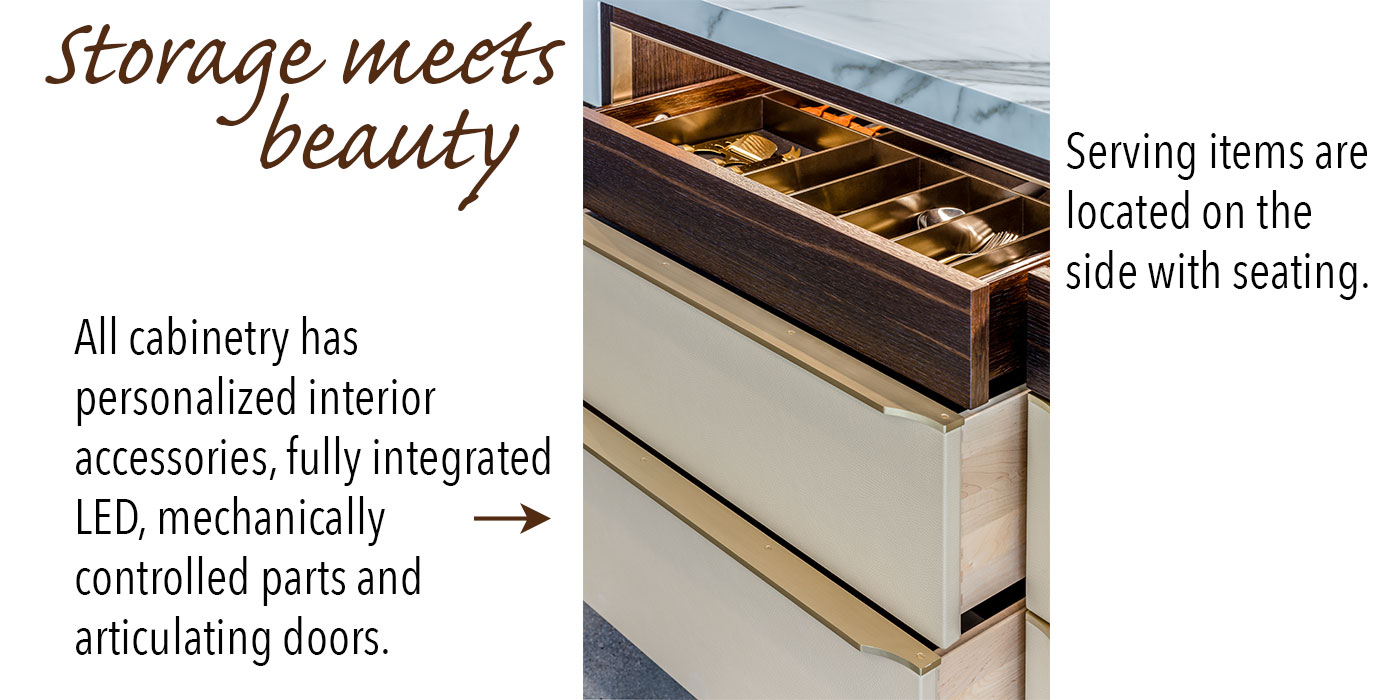 Custom cabinetry by Venegas and Company
