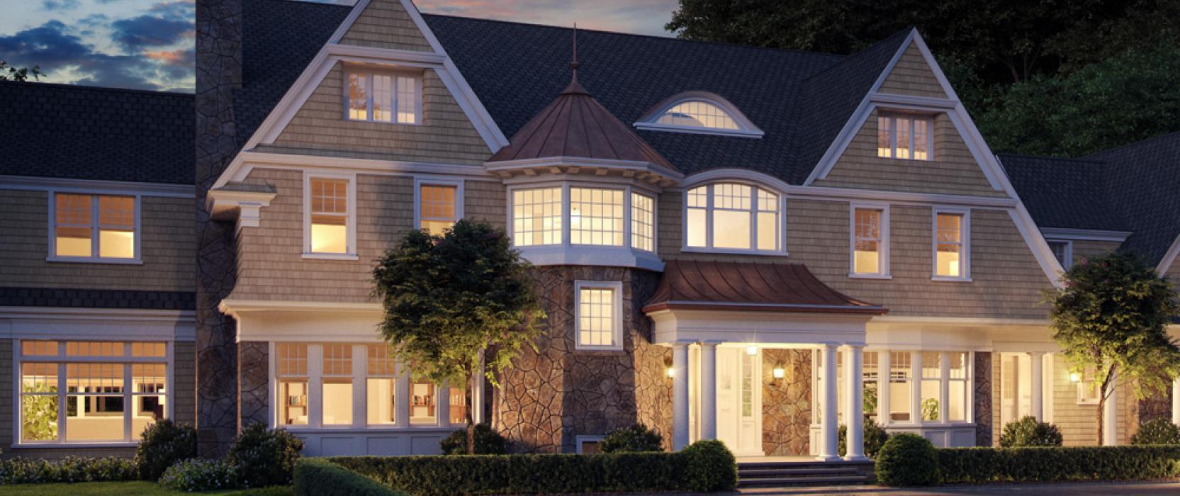8.6-Million Home by Sanford Custom Builders, Jan Gleysteen & The MacDowell Company